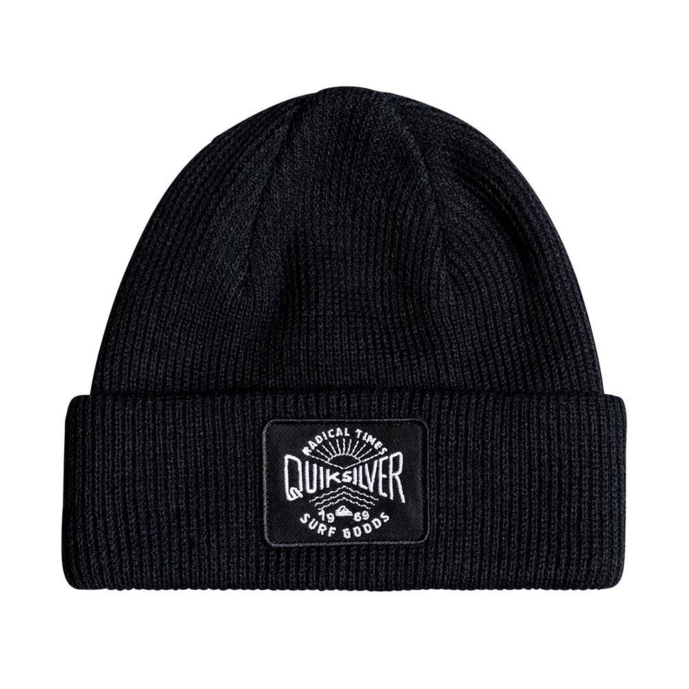 Zimní čepice Quiksilver Performed Patch black