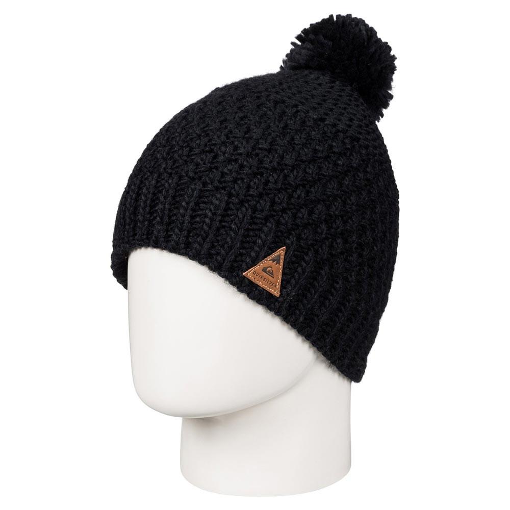 Zimní čepice Quiksilver Planter black