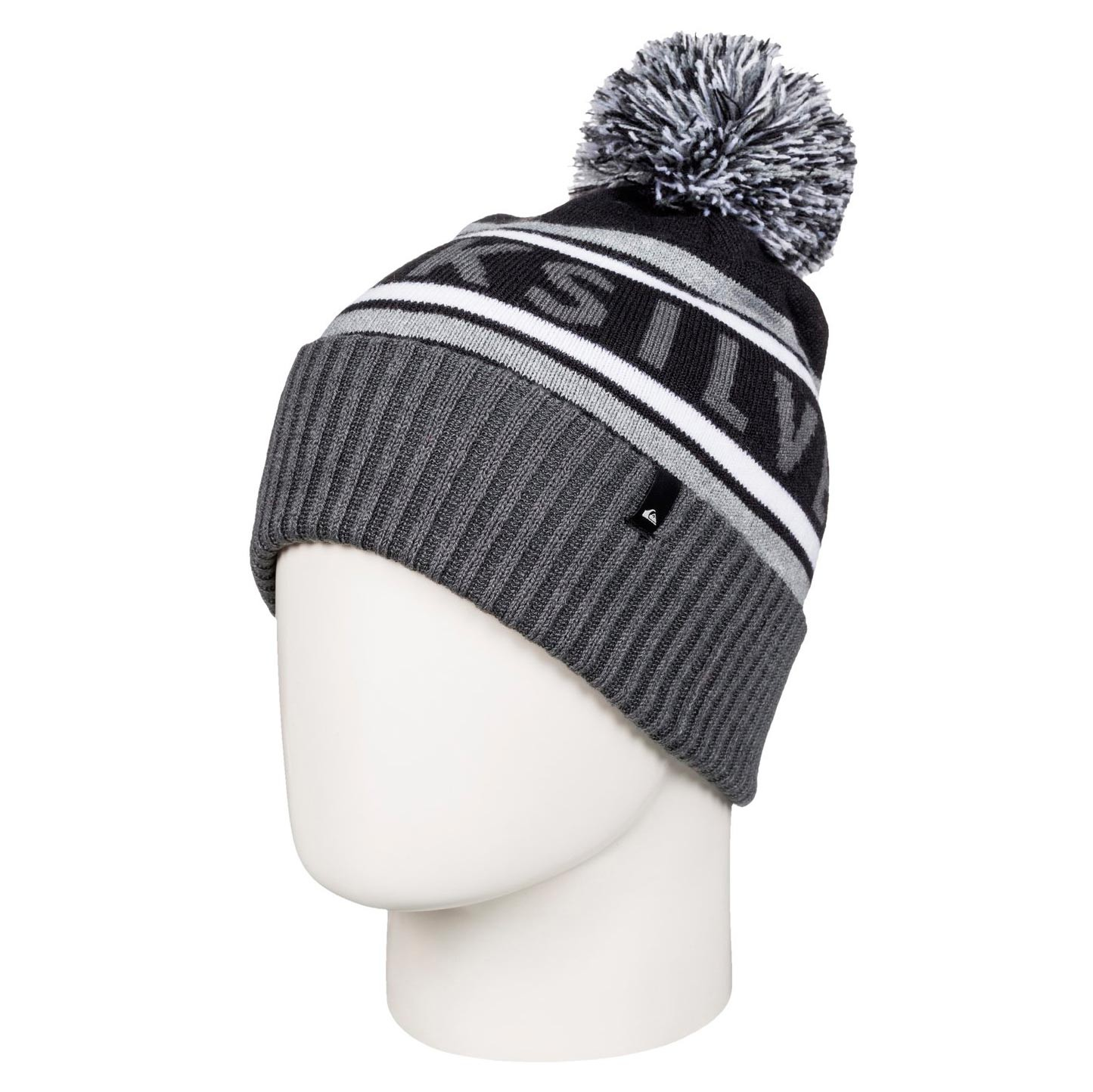 Zimní čepice Quiksilver Spillage black