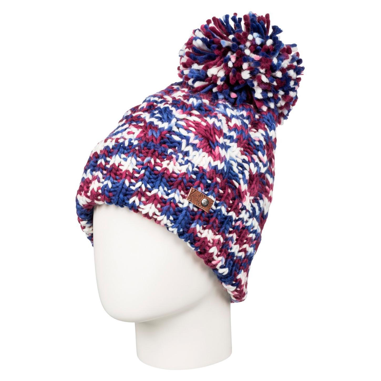 Zimní čepice Roxy Anae blue print