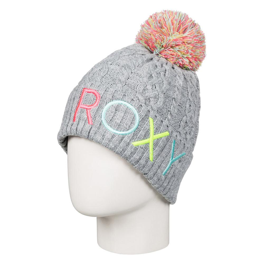 Zimní čepice Roxy Baylee Girl heritage heather