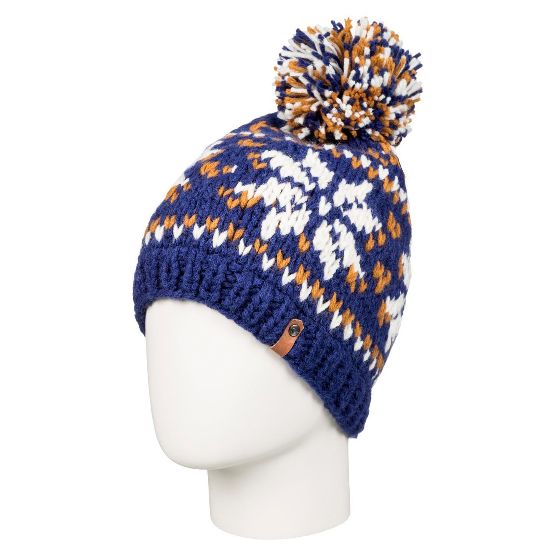 Zimní čepice Roxy Djuni blue print