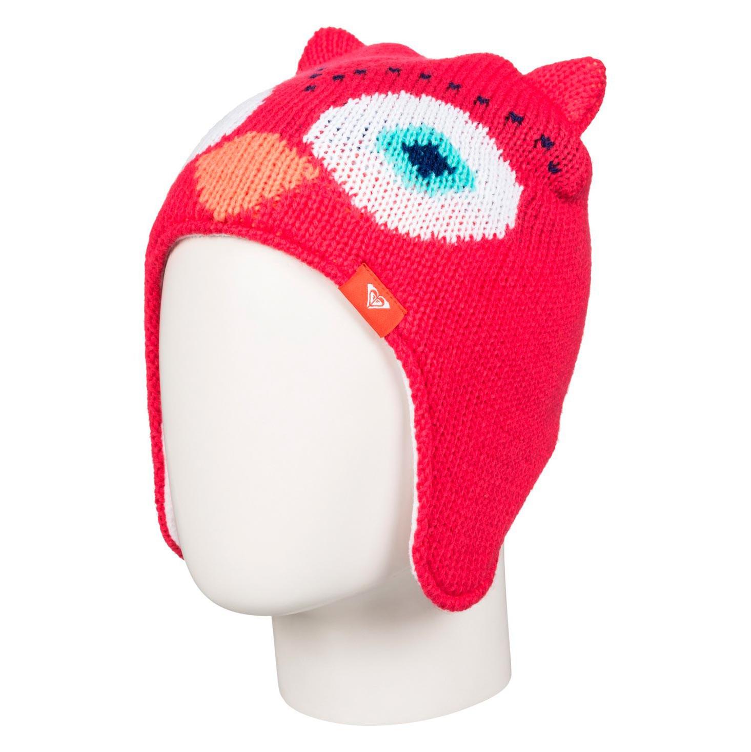 Zimní čepice Roxy Owl Teenie paradise pink
