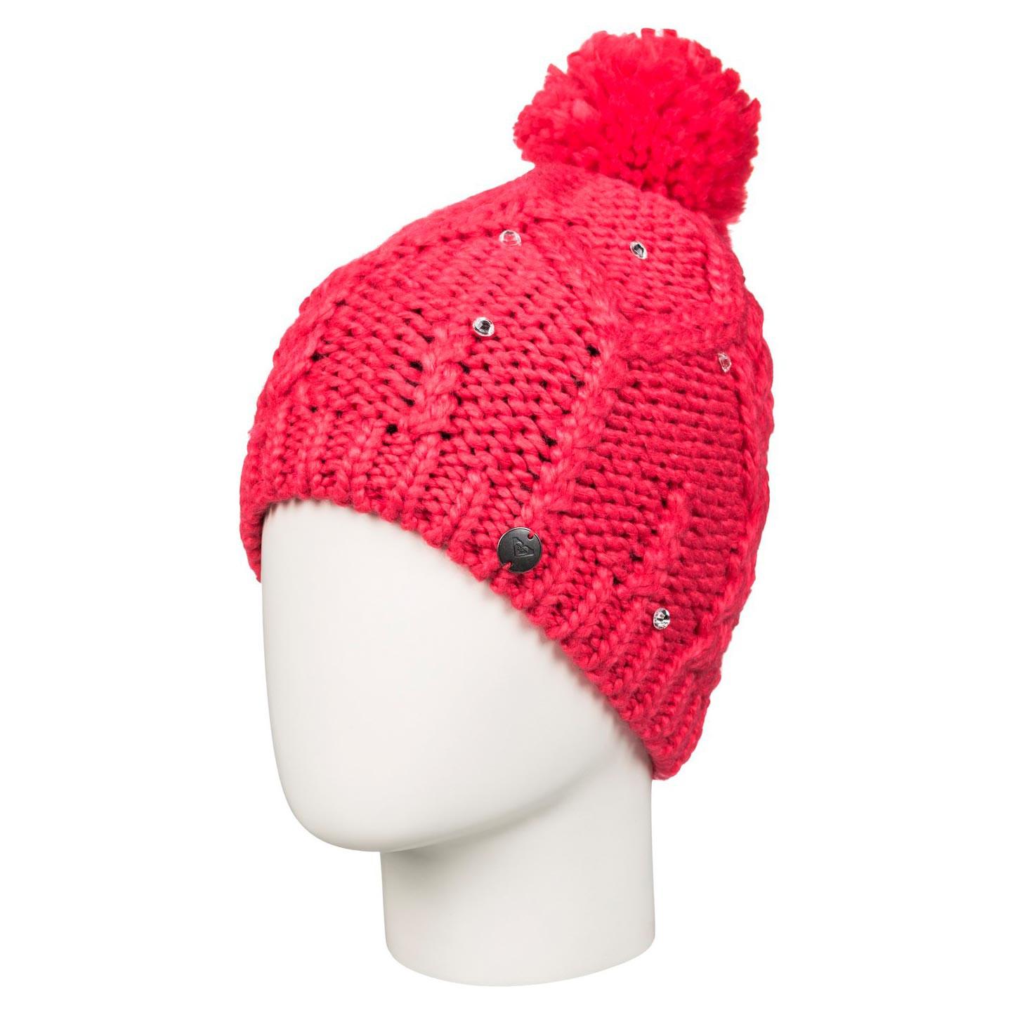 Zimní čepice Roxy Shooting Star Girl paradise pink