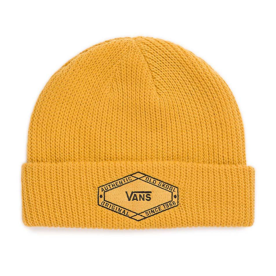 Zimní čepice Vans Clark mineral yellow