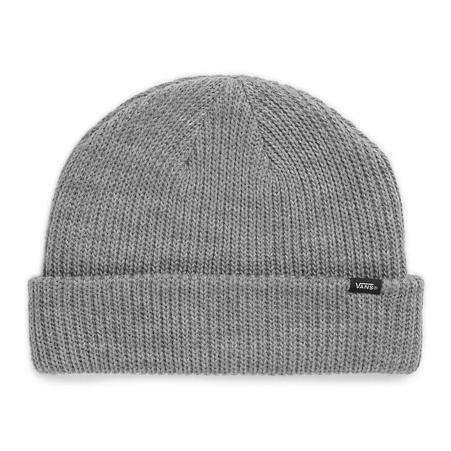 Zimní čepice Vans Core Basics heather grey
