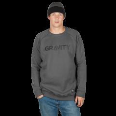 f3e9ff439b4 Přejít na produkt Gravity Logo Crew dark grey 2018 2019