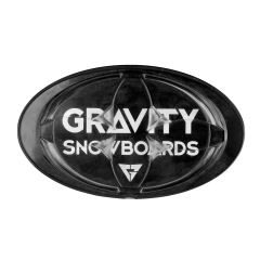 Gravity Logo Mat black 2018/2019