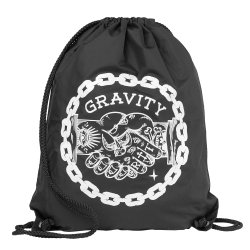 Gravity Handshake Cinch Bag black 2016/2017