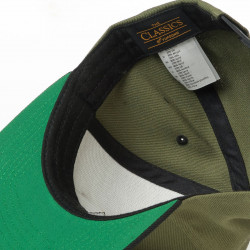 Gravity Icon Snapback olive/black 2018/2019