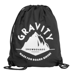Gravity Peak Cinch Bag black 2016/2017