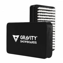 Gravity Wax Brush black/white 2018/2019