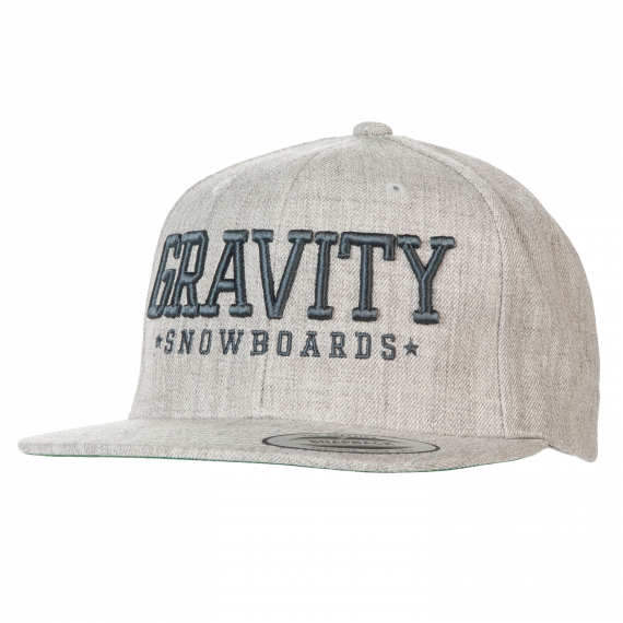 Gravity Jeremy Snapback heather grey 2016