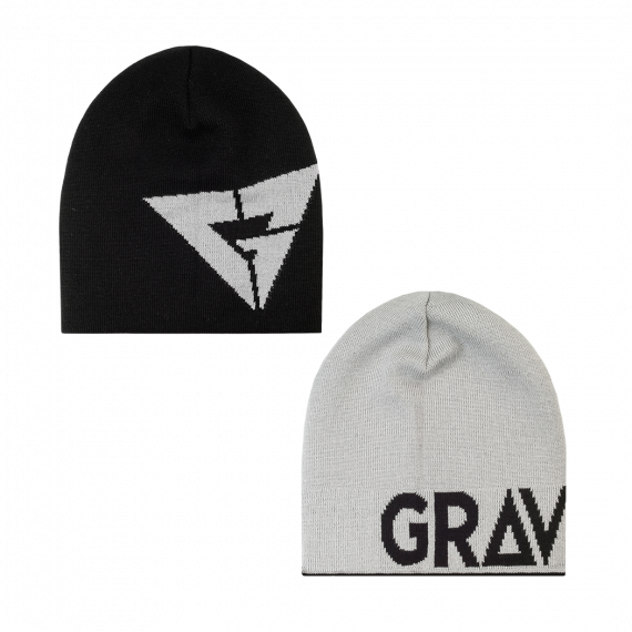 Gravity Logo Reversible black/grey 2017/2018