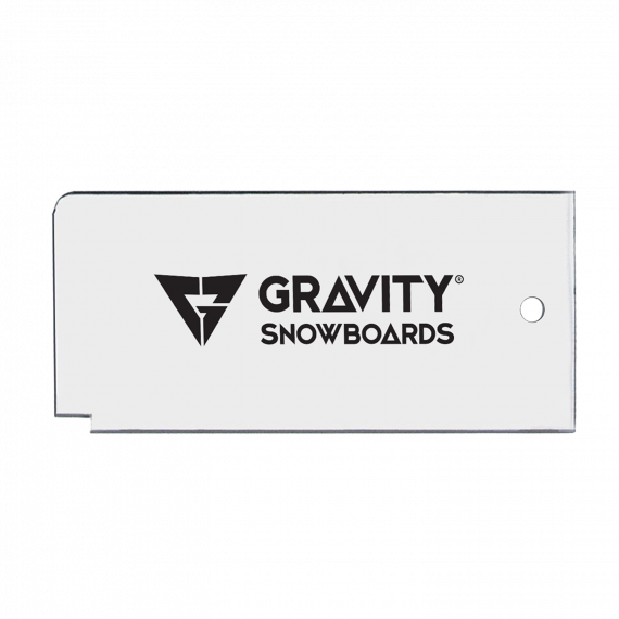 Gravity Wax Scraper clear 2018/2019