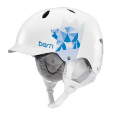 Bern Bandita satin white polar bear 2016/2017