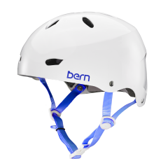 Bern Brighton Team gloss white 2017