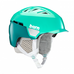 Bern Heist Brim satin teal green 2018/2019