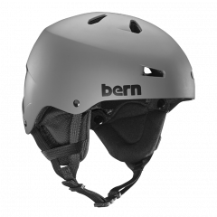 Bern Team Macon matte grey 2017/2018