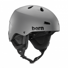 Bern Team Macon matte grey 2018/2019
