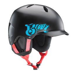 Bern Bandito satin black baseball 2016/2017