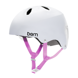 Bern Diabla Team satin white 2017