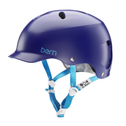 Bern Lenox Team satin midnight blue 2018