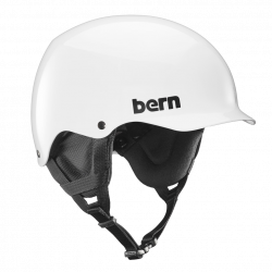 Bern Team Baker gloss white 2017/2018