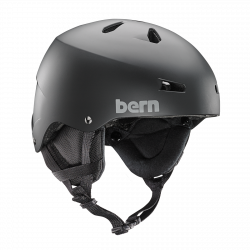 Bern Team Macon matte black 2018/2019