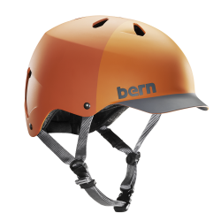 Bern Watts H2O matte orange hatstyle 2017