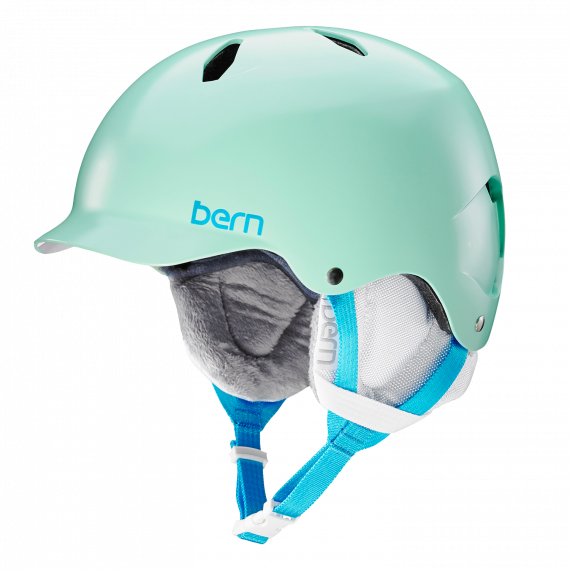Bern Bandita Jr satin mint green 2017/2018