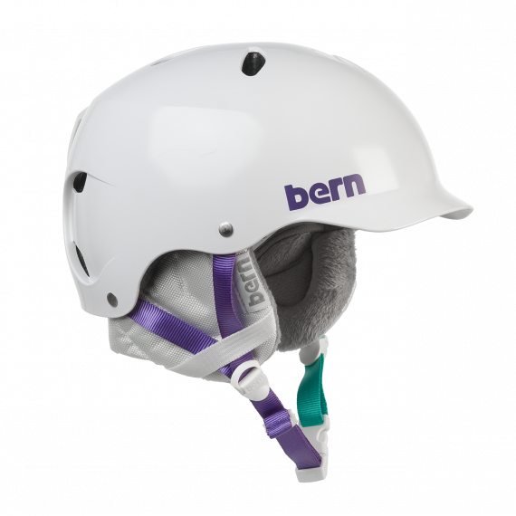 Bern Lenox Crank-Fit satin white 2018/2019