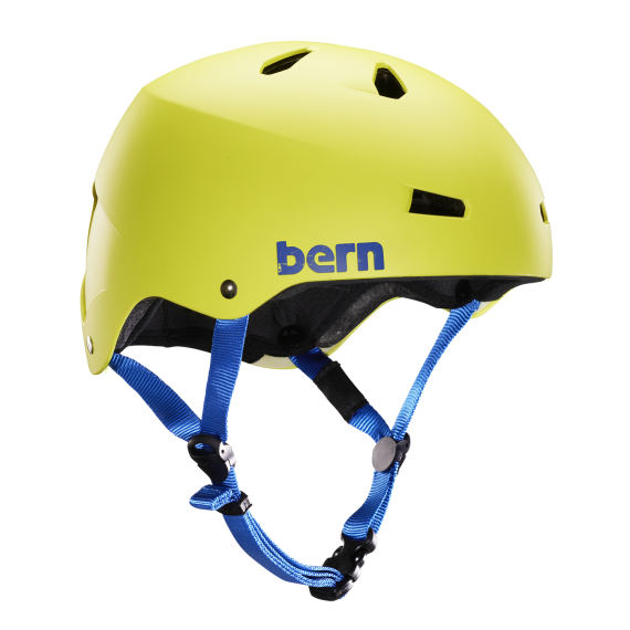 Bern Macon H2O matte neon yellow 2017