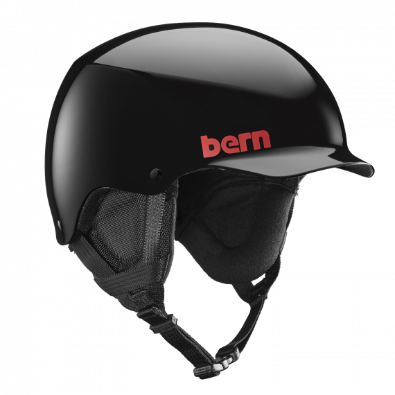 Bern Team Baker gloss black 2017/2018