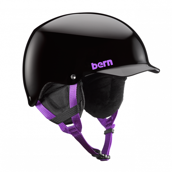 Bern Team Muse gloss black 2018/2019